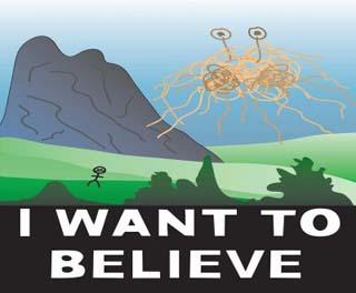 Flying Spaghetti Monster: I Want to Believe