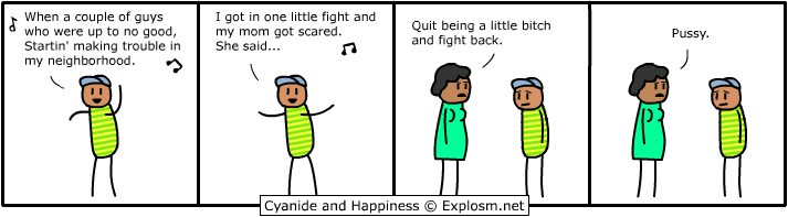 Cyanide and Happiness Bel-Air