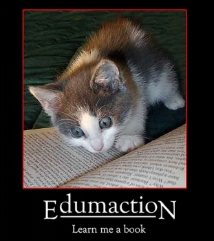 Edumaction, Learn me a book