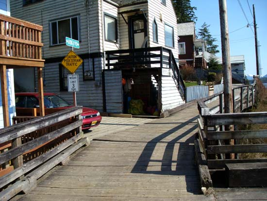 Bayview Street Boardwalk.