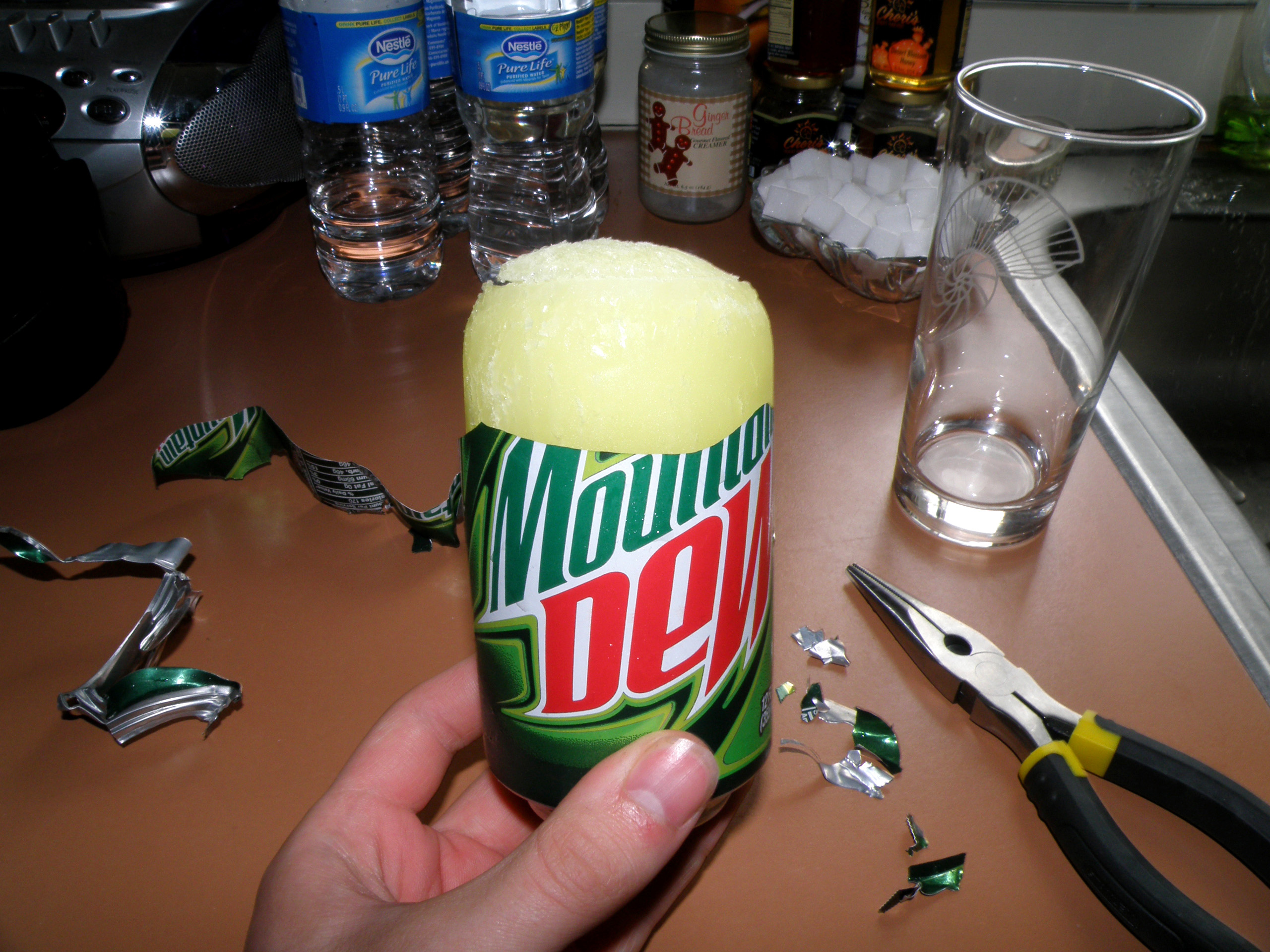 Mountain Dew Can History