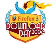 Firefox 3 Download Day, June 17 2008.