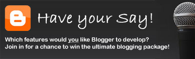 Blogger Buster Competition Announcement