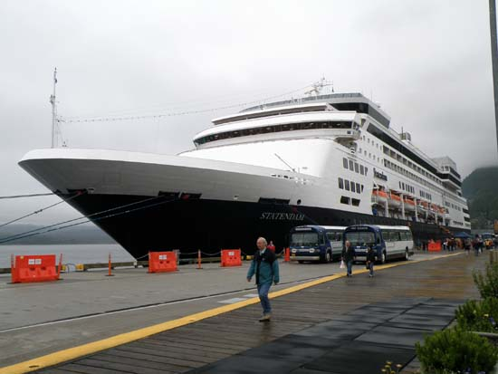 Statendam in Ketchikan, Alaska. July 3, 2008.