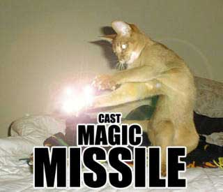 Cast Magic Missile