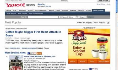 Coffee might trigger first heart attack, enjoy a second cup.