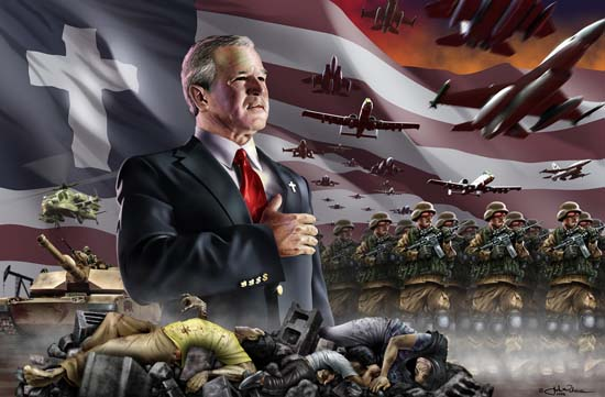 Christian America, Bush, and the War in Iraq.