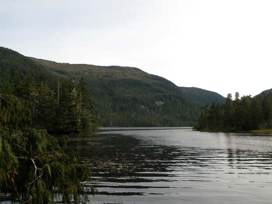 Perseverance Lake in Ketchikan, Alaska. September 25, 2008.