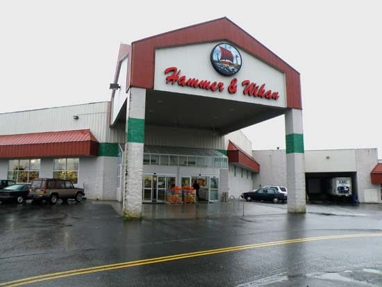 Hammer & Wikan grocery store in Petersburg, Alaska.