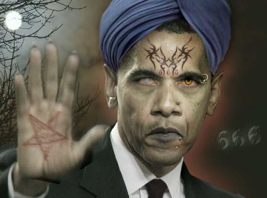 Evil Obama picture