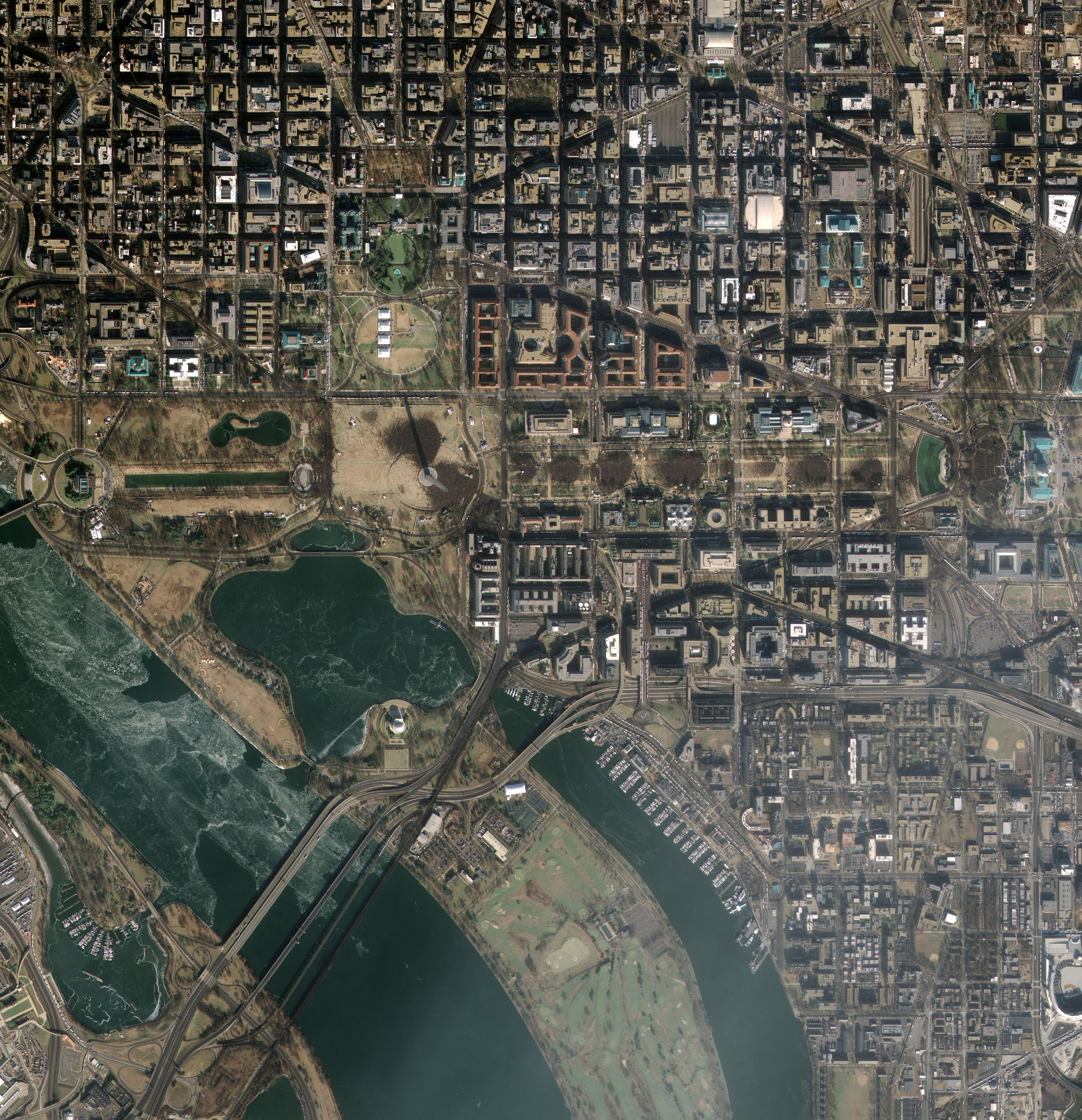Master Marf Satellite Images Of The Inauguration