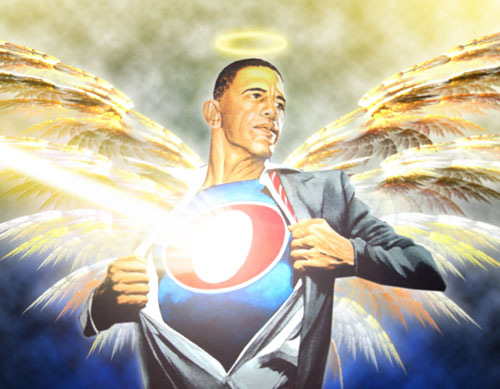 Super Obama Angel.