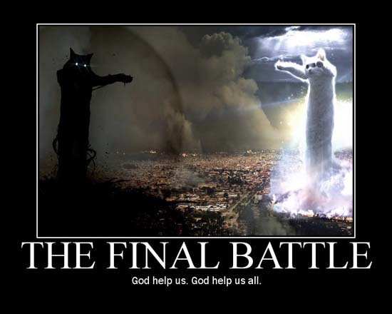The Final Battle / God help us. God help us all.