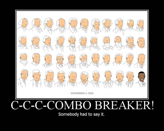 C-c-c-combo Breaker! / Sombody had to say it.