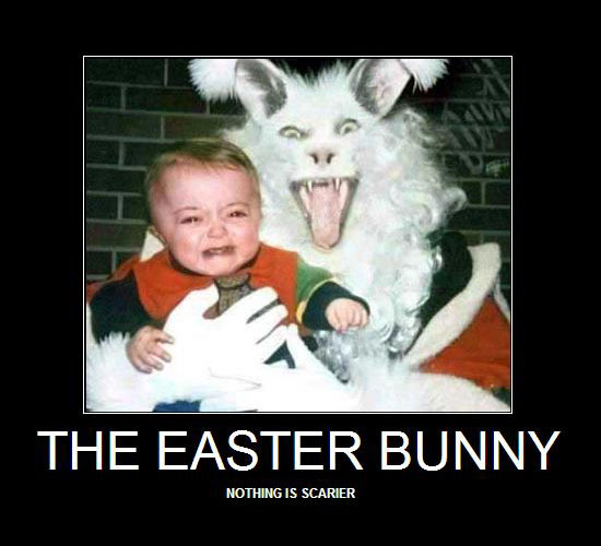 The Easter Bunny / Nothing is scarier