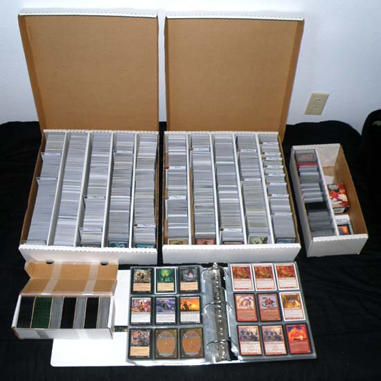 Marf's Magic the Gathering Collection