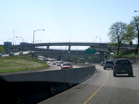 Overpasses in Portland, Oregon