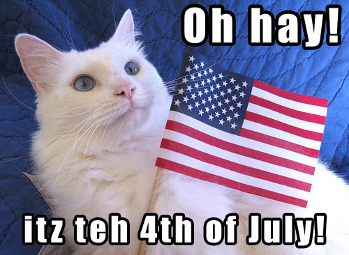 Oh Hay! itz teh 4th of July!