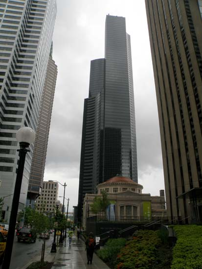 Columbia Center in Seattle, Washington.