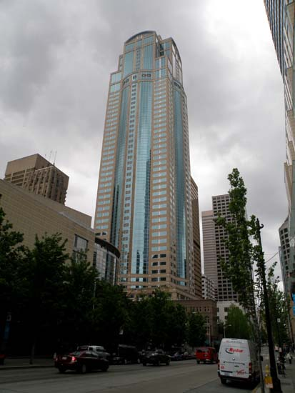 Washington Mutual tower in Seattle, Washington.