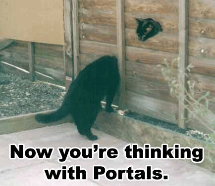 Now you&#39;re thinking with Portals.