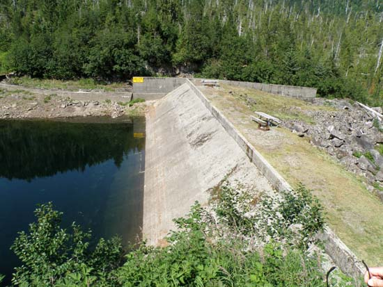 Lower Silvis dam.