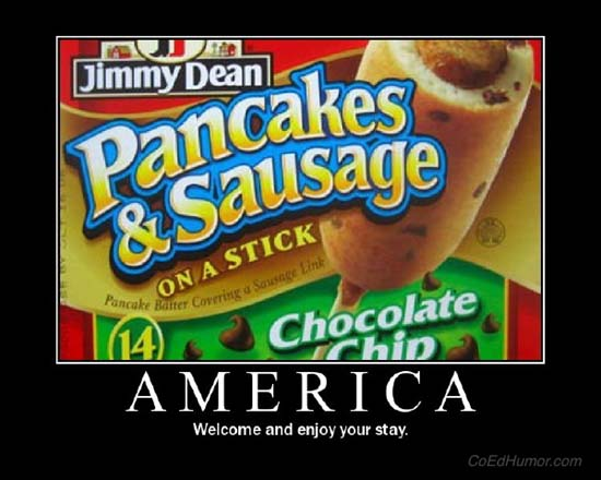 America / Welcome and enjoy your stay.