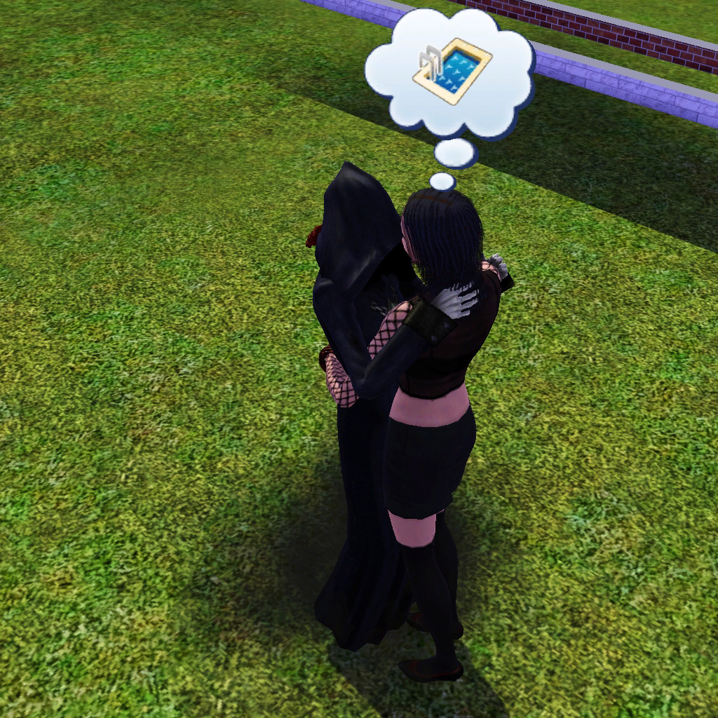 how to meet the grim reaper in sims 3