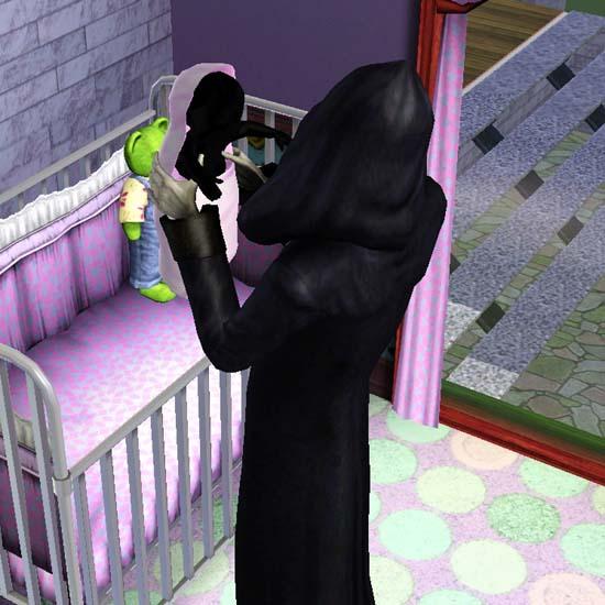 Grim Reaper's baby