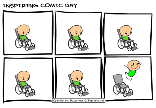 Inspiring Comic Day