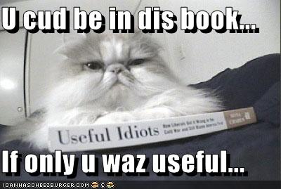 U cud be in dis book... If only u waz useful...