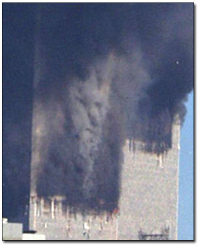 World Trade Center smoke.
