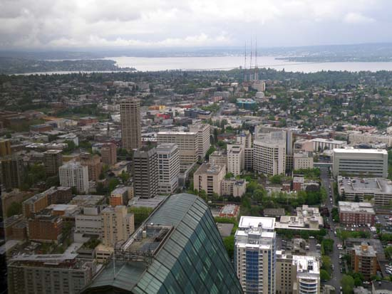 Roof of the Seattle Municipal Tower