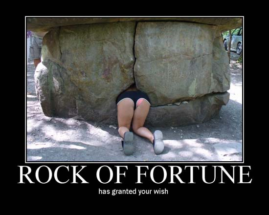 Rock Of Fortune / has granted your wish