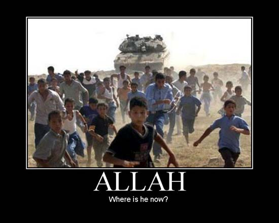 Allah / Where is he now?