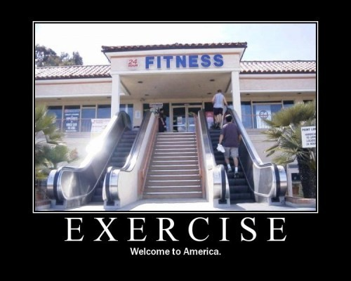 Exercise / Welcome to America