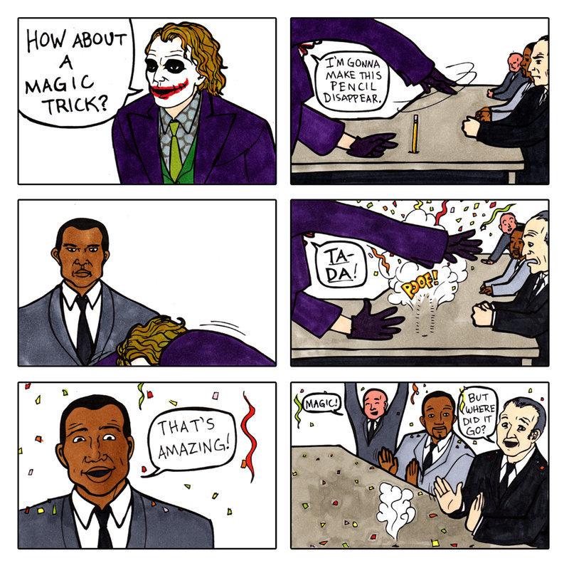 Joker Magic Trick