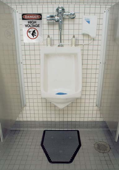 High Voltage Urinal