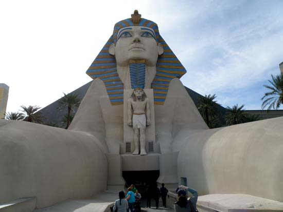 The Luxor's Sphinx