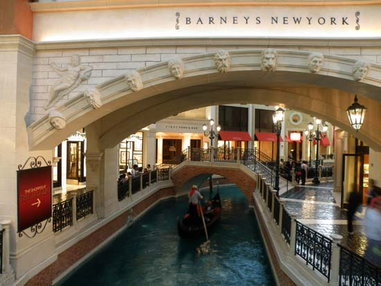Grand Canal Shoppes arch