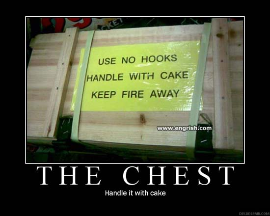 The Chest / Handle it with cake