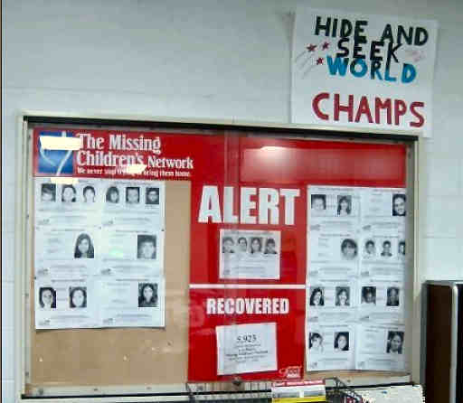 Hide and Seek World Champs / Missing Children's Network