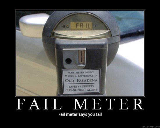 Fail Meter / Fail meter says you fail