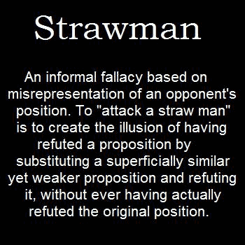 Strawman explained