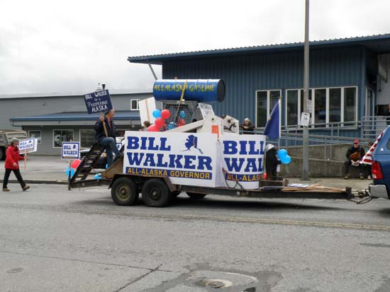 Ugly Bill Walker float