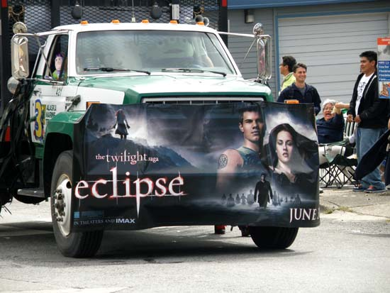Twilight Eclipse, and an alien driver