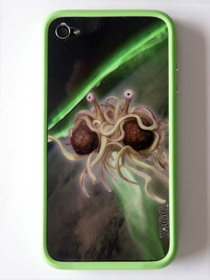 FSM Zagg Skin on iPhone 4