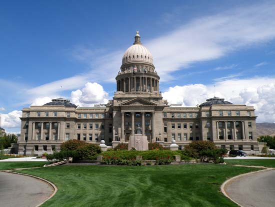 Idaho Capitol Building in Boise