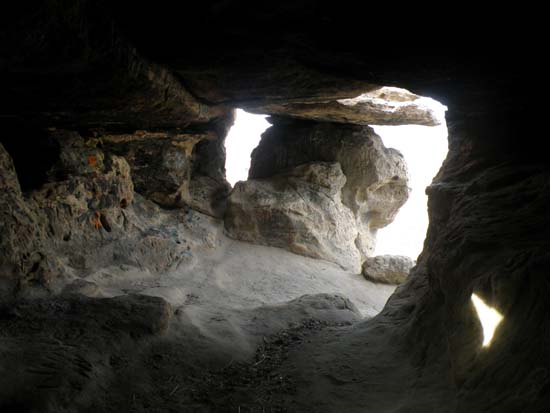 Table Rock cave