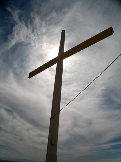 Cross on Table Rock
